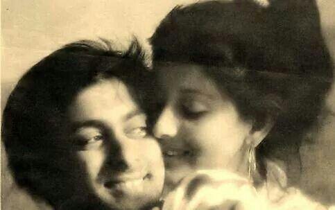 Salman Khan and Sangeeta Bijilani. Follow me on Pintrest my name is Coco Khan