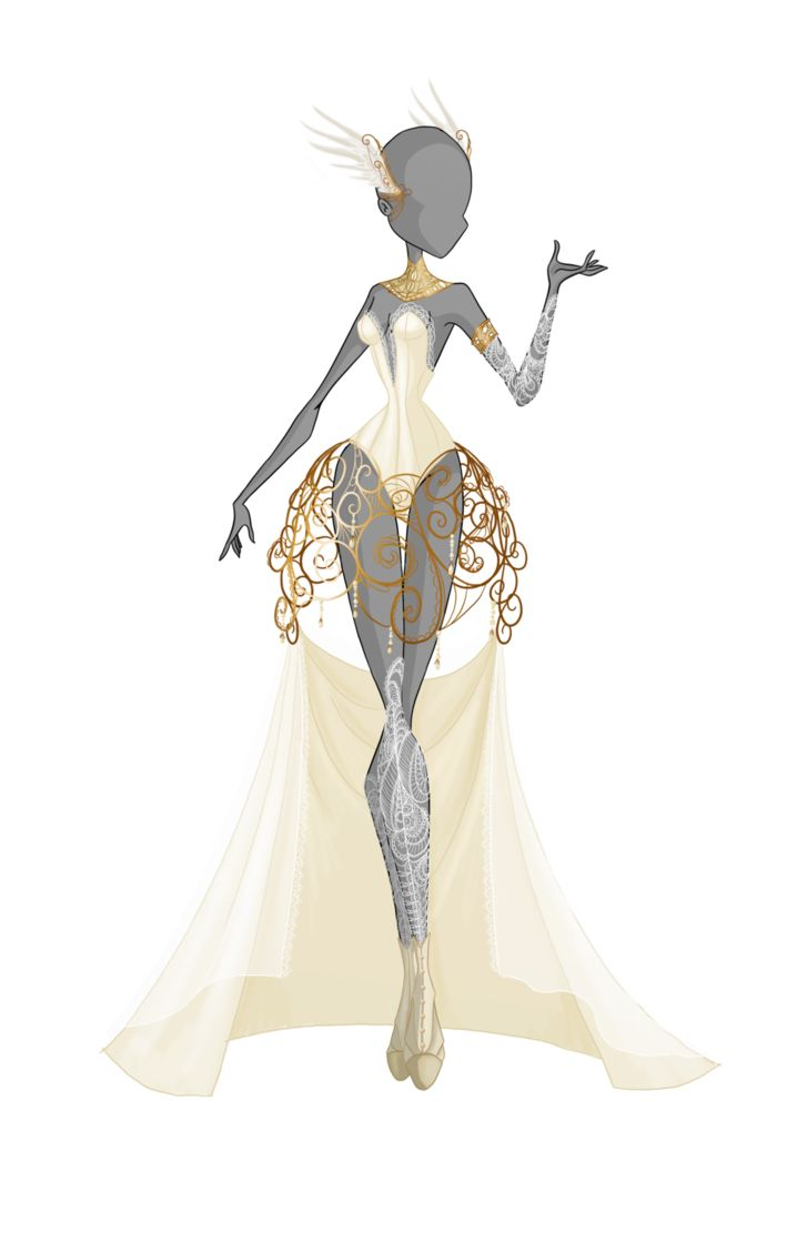 Nyx is the crown princess of Nocturna, so she deserves a pretty dress for her coronation day ! (I'm thinking about drawing a crown... A big, big crown...) Hope you'll like this design ! In a...