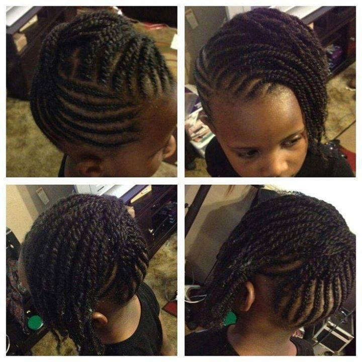 Tremendous 148 Best Images About Natural Kids Updos On Pinterest Natural Short Hairstyles Gunalazisus