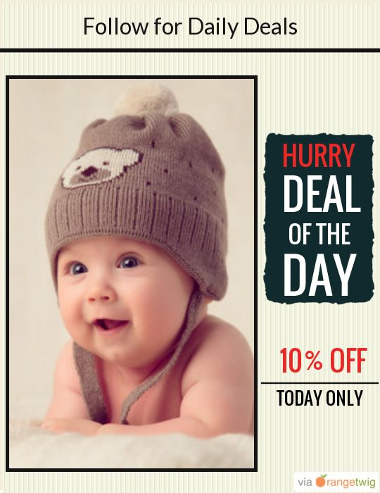 Today Only! 10% OFF this item. Follow us on Pinterest to be the first to see our exciting Daily Deals. Today's Product: Brown Baby Hat Buy now: https://orangetwig.com/shops/AAA0bja/campaigns/AABZg1L?cb=2015010&sn=scoopster7&ch=pin&crid=AABZgzX&exid=214498345