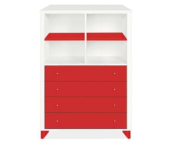 Room & Board - Moda Loft 42w 58h Four-Drawer Dresser