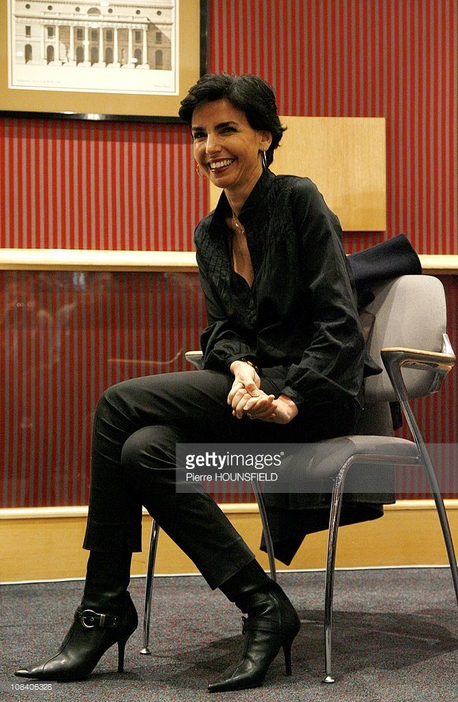 French Justice Minister Rachida Dati in Paris, France on March 26, 2009.