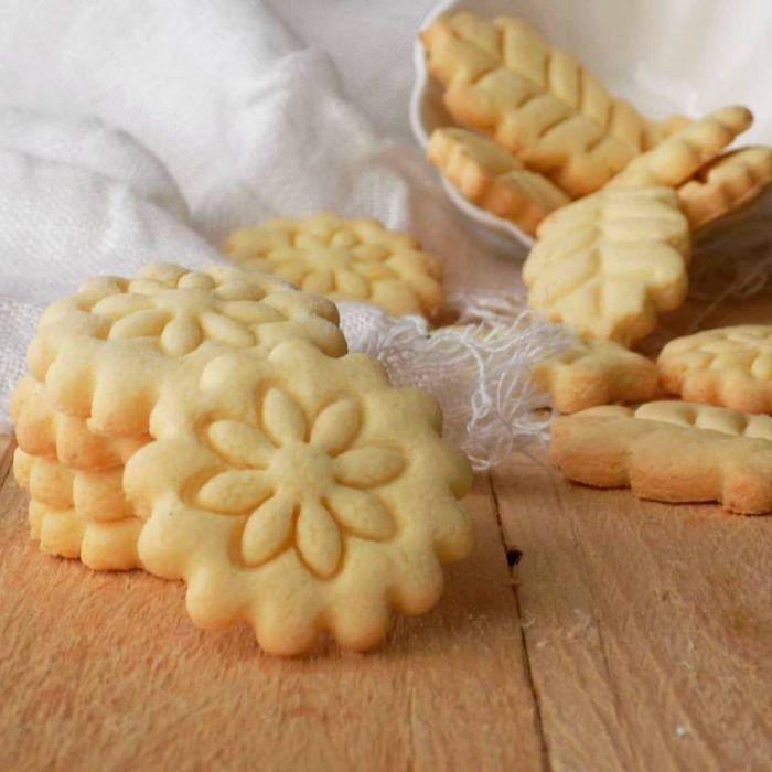 Biscotti di frolla allolio con farina di riso