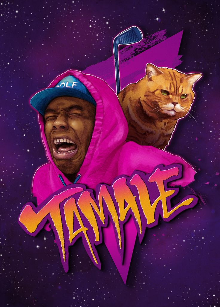 """Tamale"", Tyler the Creator fanart by BlackShowStudio.com"