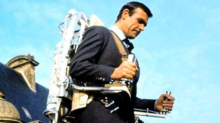 Ook in de actiefilms van 007 wordt er gebruik gemaakt van onbestaande technologische snufjes.