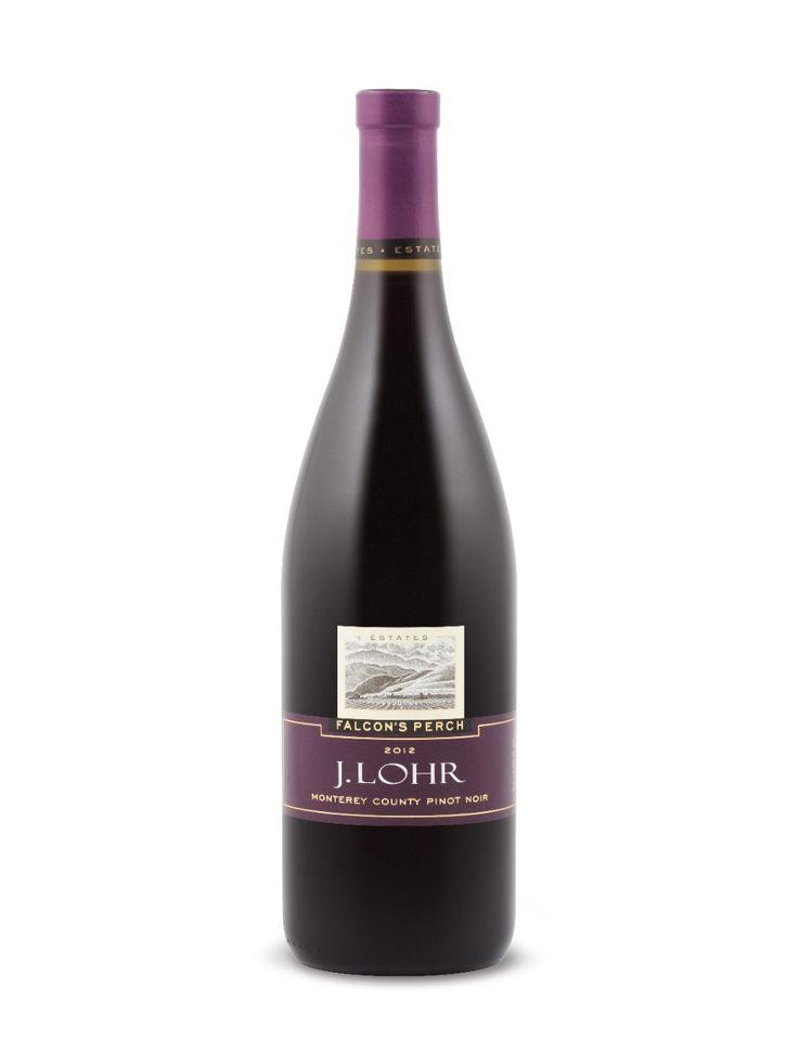 J Lohr Falcon S Perch Pinot Noir 2012 Wine List