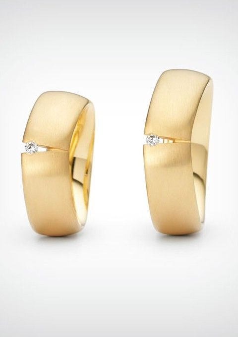Vind je trouwring bij Goldline - WIT Wedding www.witwedding.nl/webshops/bruid/trouwringen-bruid/