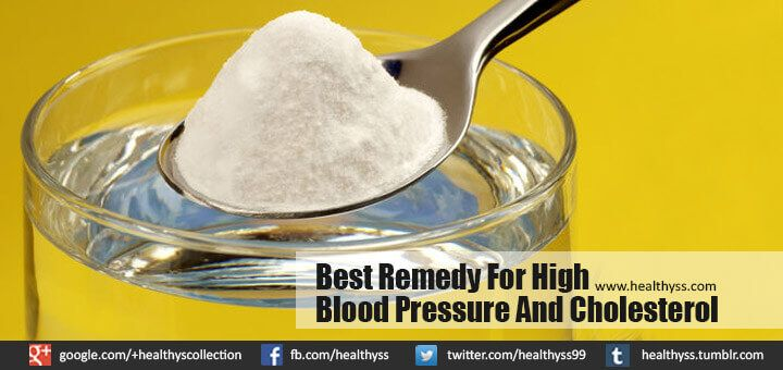 Best Remedy For High Blood Pressure And Cholesterol