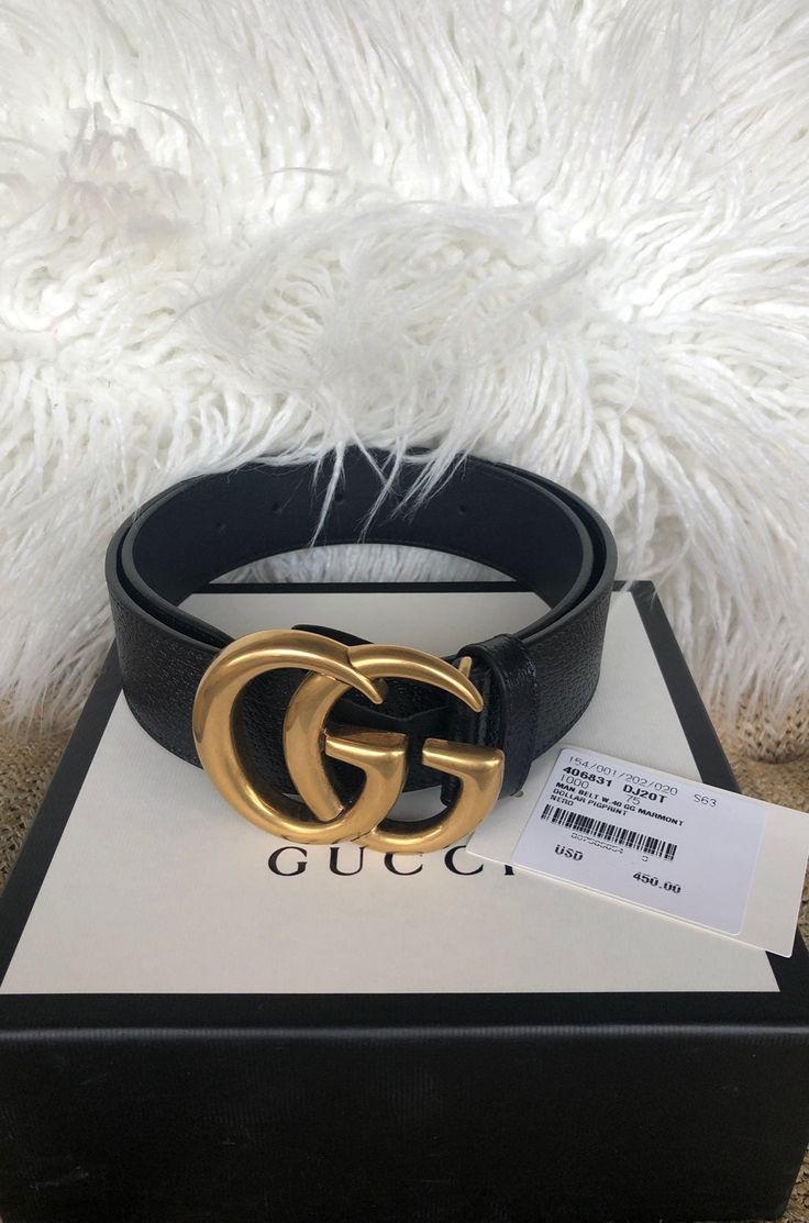 Authentic gucci marmont belt size 75 never worn tag