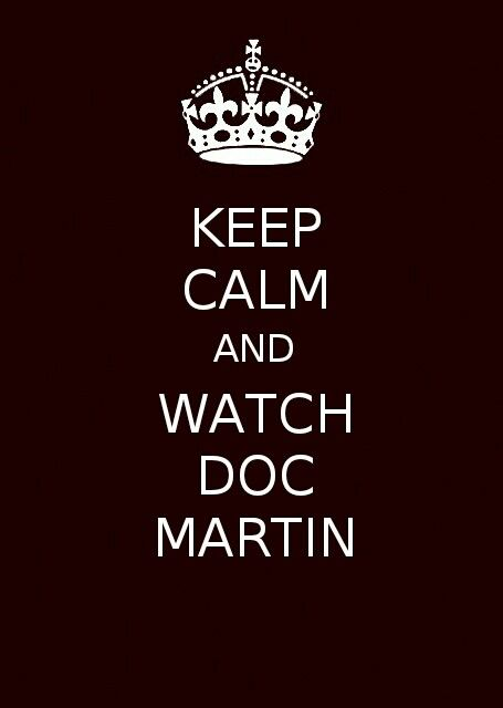 =)) Love me some Doc Martin!