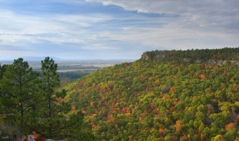 A list of 10 Hot Spots to Camp in Arkansas, perfect for a fall break excursion!