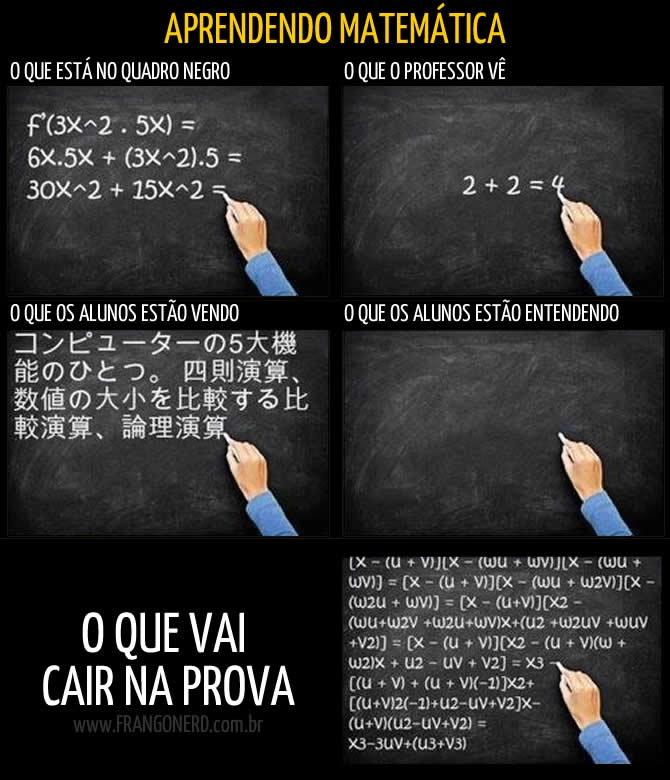 Aprendendo matemática