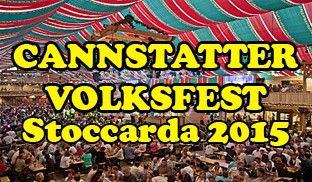 Cannstatter Volksfest Stoccarda 2015