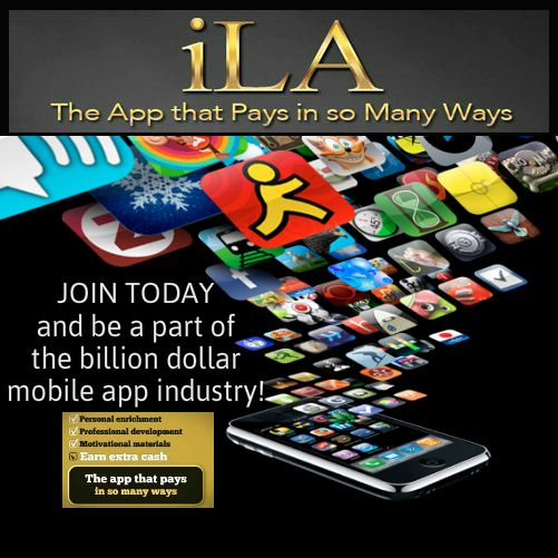 Make money sharing mobile apps - ILA ilivingapp.com/raycole