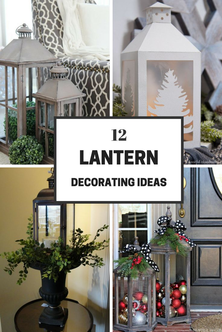"""Lanterns are becoming more and more popular. I have seen people use them a lot for holiday decor and just for dressing up their front and back porches. I have put a few different decorating ideas together on how to dress them up in your home! Enjoy.   Source: Etsy This is a picture … Continue reading """"Decorating with Lanterns"""""""
