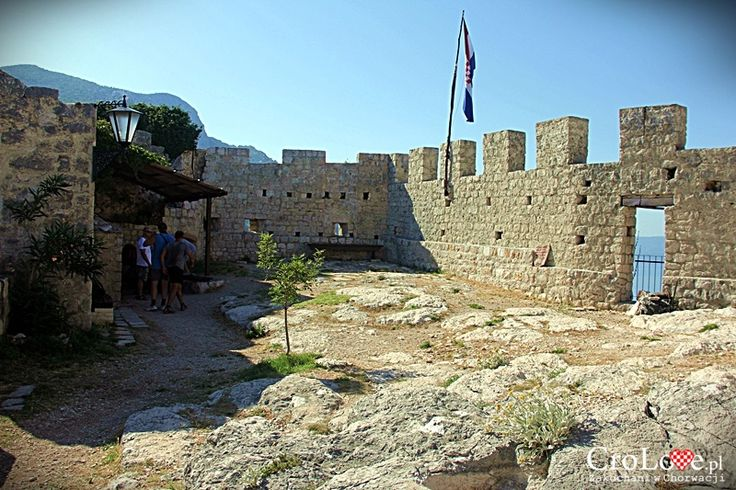 Twierdza Starigrad (Fortica) w Omišu || http://crolove.pl/twierdza-starigrad-fortica-omisu/ || Omis #Chorwacja #Croatia #Hrvatska