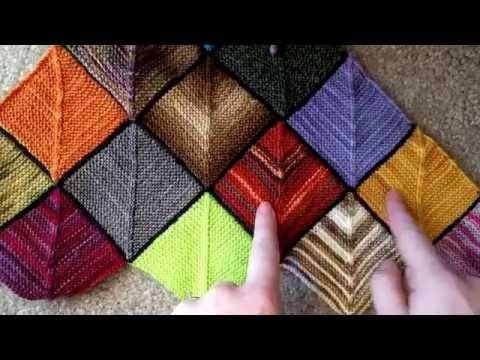 Ladybug Laboratory - Blanket Tutorial 3: Body Squares - YouTube
