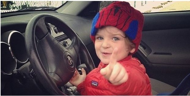 You won't believe this....10-Year-Old Boy Steals Car & Tells Cops He's A Dwarf! Hit the pic for the #lol story