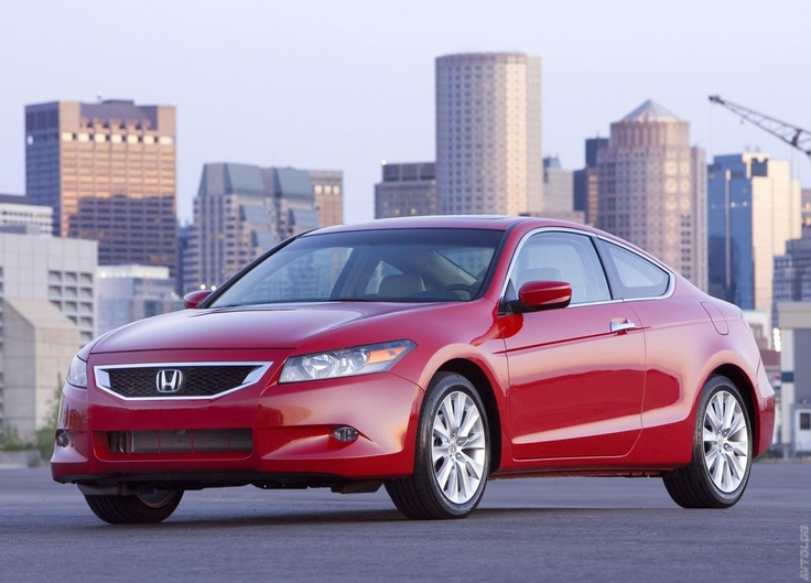 2008 Honda Accord Ex L V6 Coupe Honda Pinterest