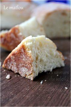 Le matlou: pain algérien, facile, sans pétrissage