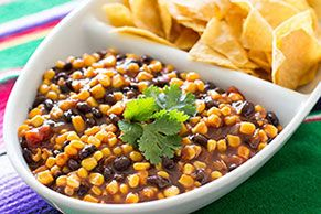 This hearty black bean salsa has everything you'd expect—plus BBQ sauce for an extra-tangy kick.