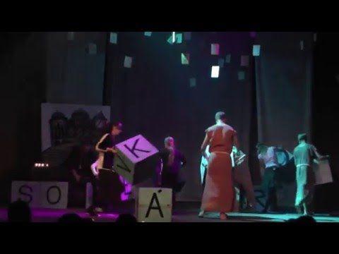 Divadelné predstavenie - DS LEUA - Konštantín a Metod - 1. časť - YouTube