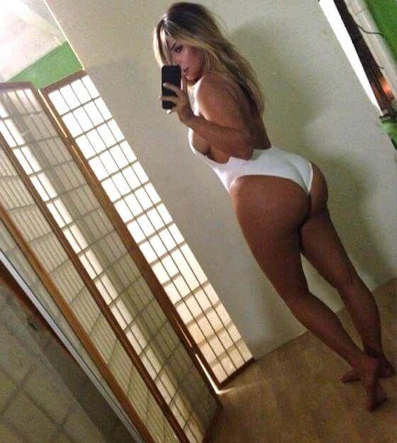 Immer wieder postet Kim Kardashian Bilder ihres XXL-Hinterns auf Instagram.