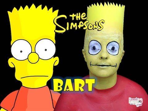 Résultats de recherche d'images pour « bart simpson halloween makeup »
