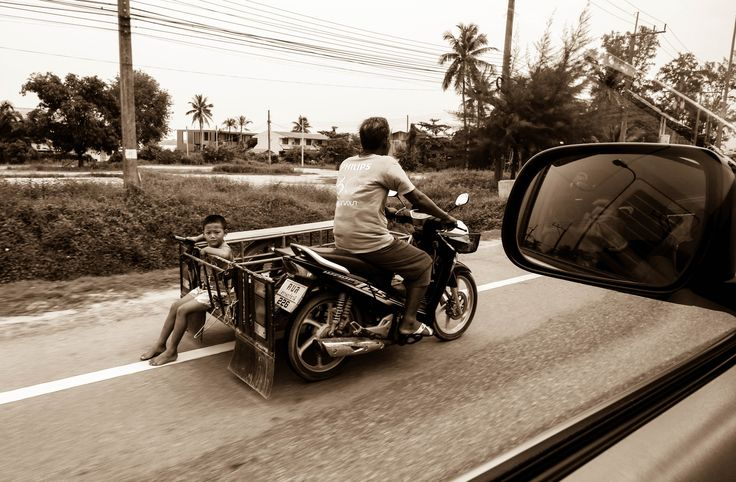 Thailand Bike riding kid