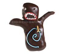 So, um, there's a place called Voodoo Doughnut that makes a doughnut that looks like this. Can I please have one?