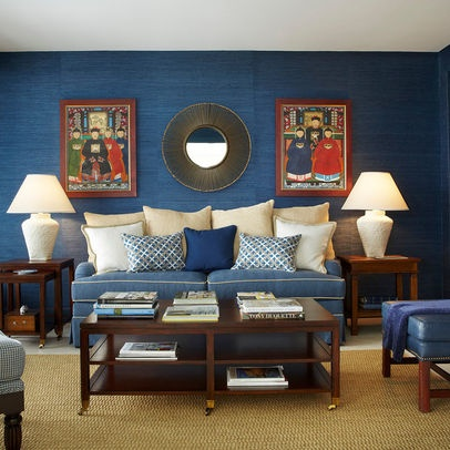 How Much Do I Love Blue Seagrass Wallpaper?