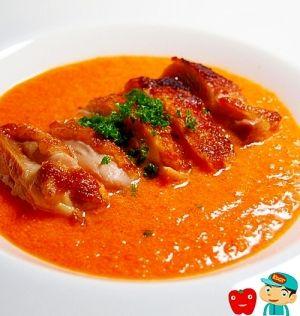 楽天が運営する楽天レシピ。ユーザーさんが投稿した「パプリカソースでグリルチキン」のレシピページです。パプリカのソースは肉にも魚にも良く合います。甘みもコクもしっかりあってとても美味しいですよ。。鶏もも肉,塩,パセリみじん切り,■パプリカソース,赤パプリカ,玉ねぎ,ニンニク,生クリーム,塩,オリーブオイル