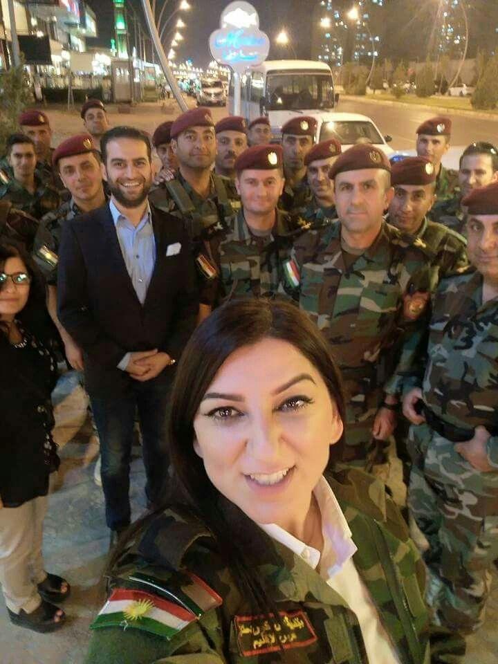 The Peshmerga are like rock stars in Erbil.