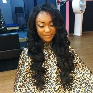 cute hairstyles with hats : Beautiful, Long sew in and Nice on Pinterest