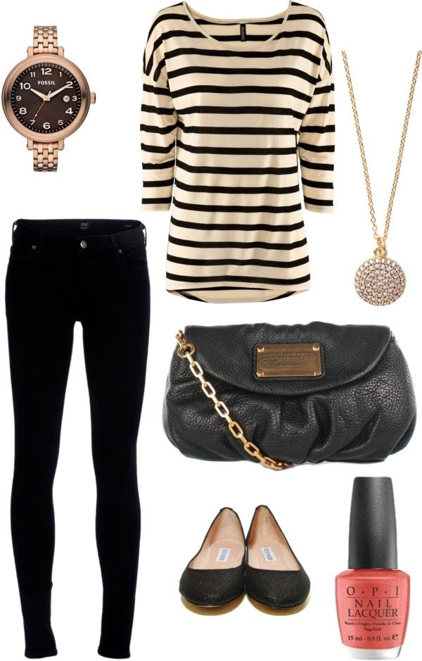 Cute and casual winter outfit.
