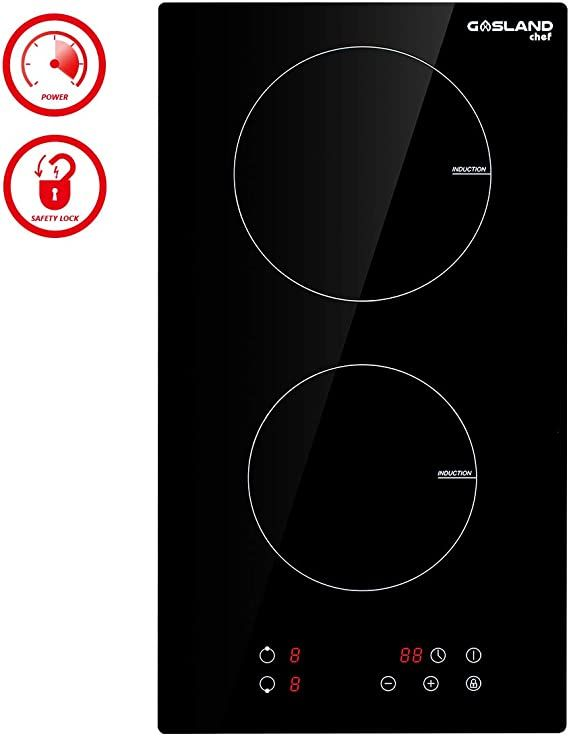 Amazon Com 12 Built In Induction Cooktop Gasland Chef Ih30bf 240v Electric Induction Hob Drop In 2 Burn In 2020 Induction Cooktop Induction Stove Top Induction Hob