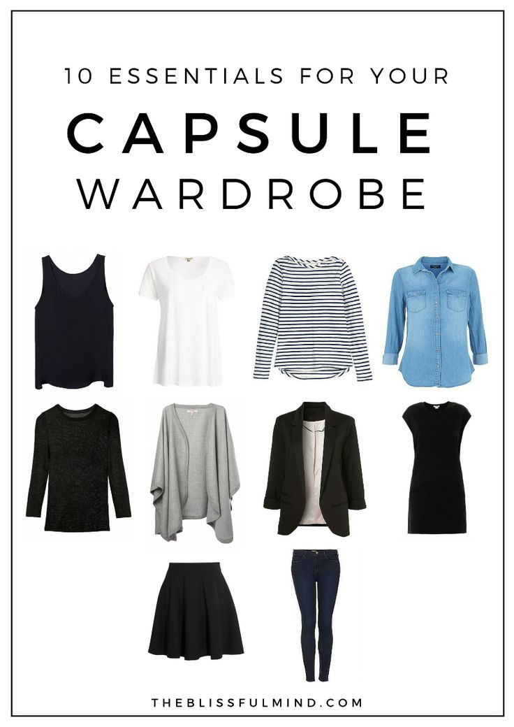 Capsule Wardrobe: 25+ Best Ideas About 10 Piece Wardrobe On Pinterest