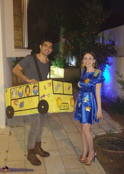 swan halloween costume idea the magic school bus couple costume - Halloween Costume For Fat People