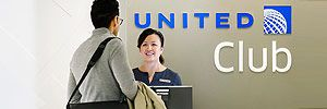 Free Entrance to United Airport Club Lounges for military discounts-deals4military.com