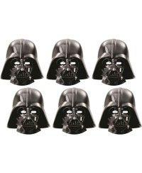 Star Wars Kağıt Maske 6 Adet