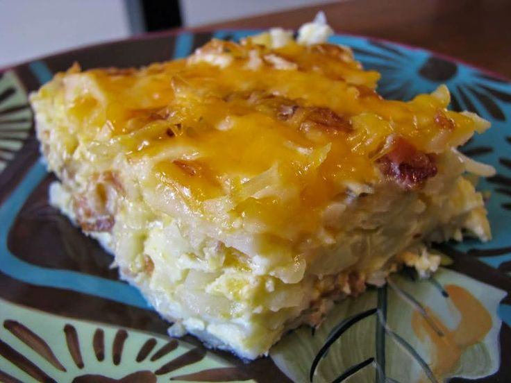 the best recipes of all time: Hashbrown Egg Breakfast Casserole