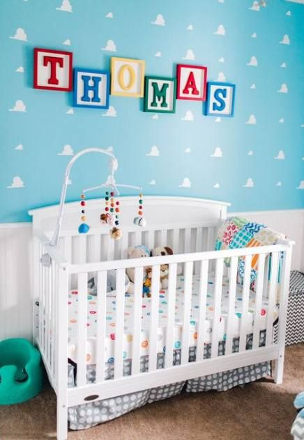 23 Ideas For Baby Nursery Clouds Toy Story