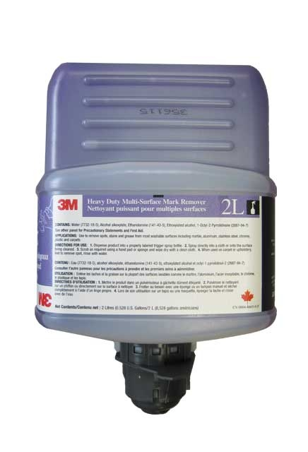 3M Twist'n Fill Heavy Duty Multi-Surface Cleaner 2L: Heavy duty multi-surface cleaner for 3M Twist'n Fill dilution system