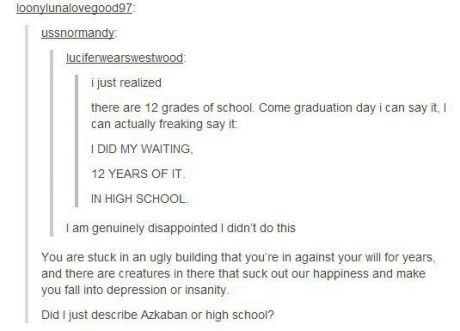 This is awesome... Although I really do enjoy school most days. :)