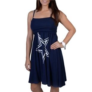 Dallas Cowboys Bernice Tube Dress | Dallas Cowboys Clothing | Dallas Cowboys Store - Dallas Cowboys Pro Shop