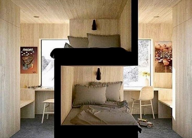 Bunk Bed Room Dividers Bunk Bed Designs Bedroom Design Sibling