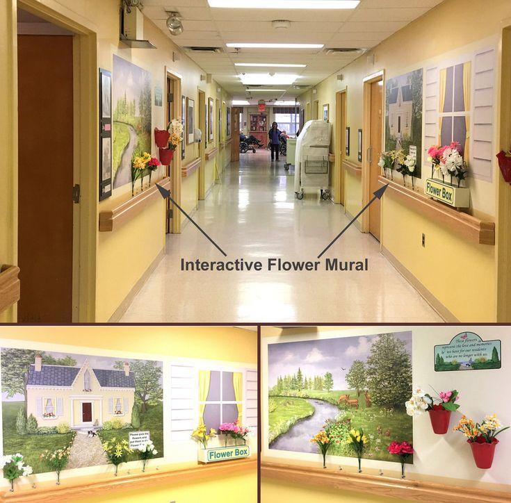 best 25  flower mural ideas on pinterest