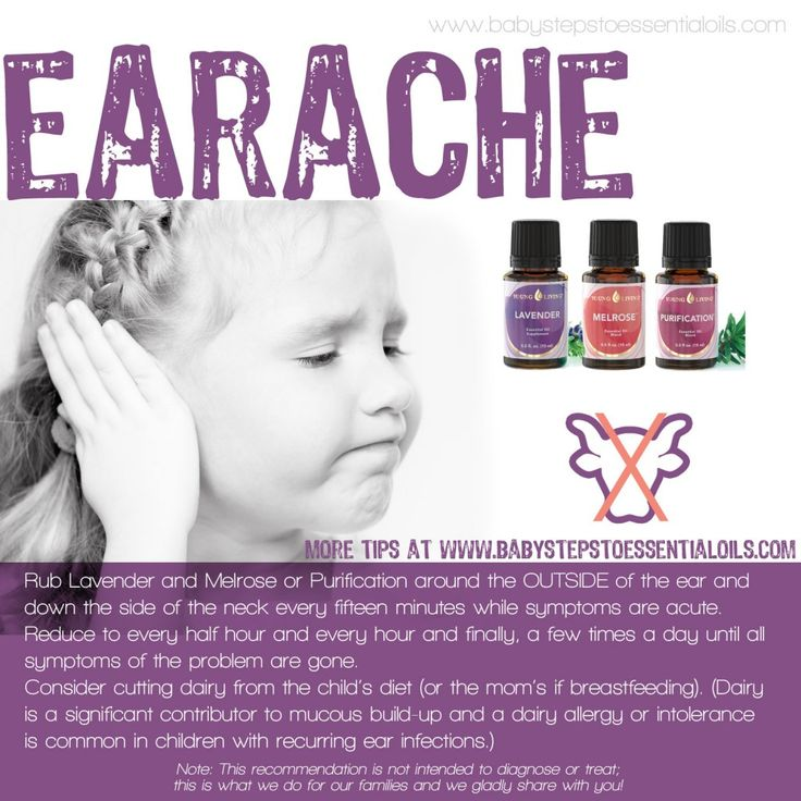 Earache Remedy with Young Living Essential Oils