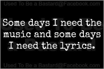 On oublie souvent de porter attention aux paroles de chansons et pourtant on y trouve souvent beaucoup de réconfort