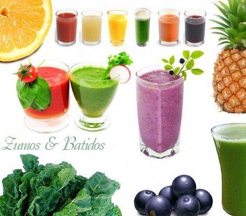 Batidos verdes vs zumos verdes